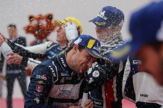 Podium: #22 United Autosports Ligier JSP217 Gibson: Philip Hanson, Filipe Albuquerque