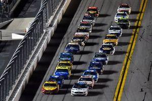 Joey Logano, Team Penske, Ford Mustang Shell Pennzoil, Ryan Newman, Roush Fenway Racing, Ford Mustang Koch Industries