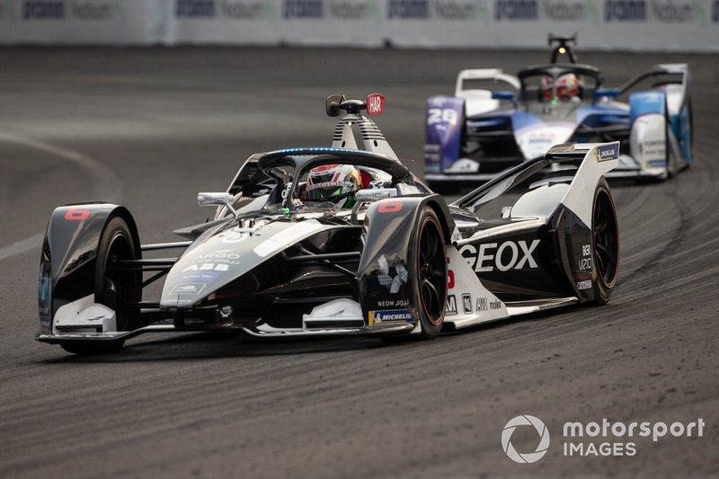 Brendon Hartley, Dragon Racing, Penske EV-4, Maximilian Günther, BMW I Andretti Motorsports, BMW iFE.20