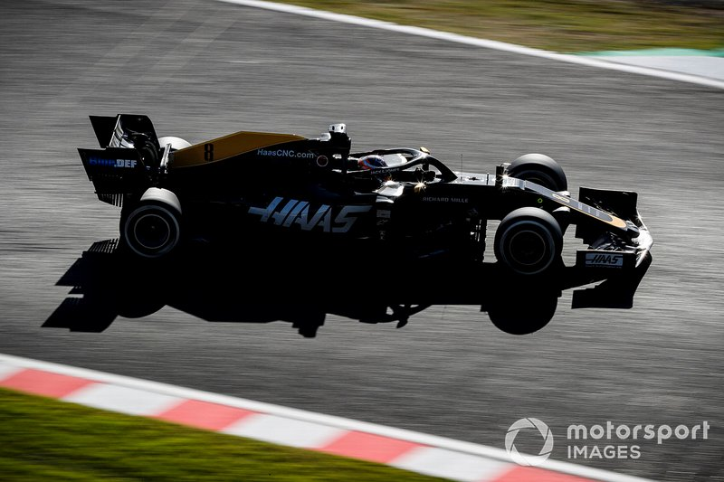 20º: Romain Grosjean, Haas F1 Team VF-19