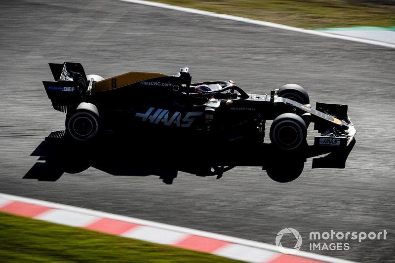 20º: Romain Grosjean, Haas F1 Team VF-19