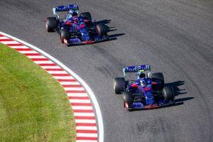 Пьер Гасли и Даниил Квят, Scuderia Toro Rosso STR14