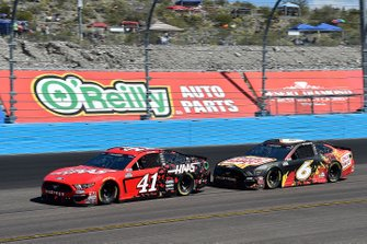 Cole Custer, Stewart-Haas Racing, Ford Mustang Haas Automation, Ross Chastain, Roush Fenway Racing, Ford Mustang Oscar Mayer