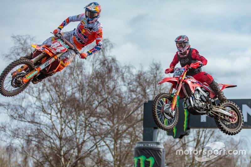 Jeffrey Herlings, Red Bull KTM Factory Racing en Tim Gajser, Team HRC