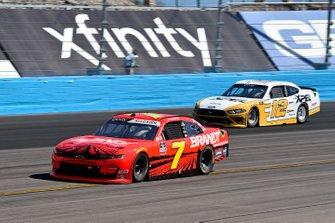 Justin Allgaier, JR Motorsports, Chevrolet Camaro BRANDT, Brad Keselowski, Team Penske, Ford Mustang XPEL