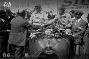 Одет Сико и Маргерит Марёз в гонке «24 часа Ле-Мана» 1930 года