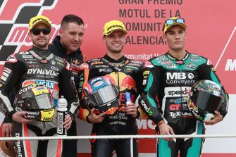 Thomas Luthi, Intact GP, Brad Binder, KTM Ajo, Jorge Navarro, Speed Up Racing