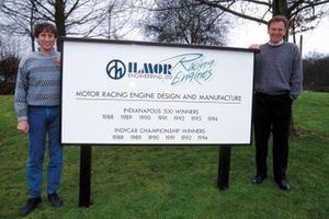 Mario Illien and Paul Morgan, Ilmor engineering Factory