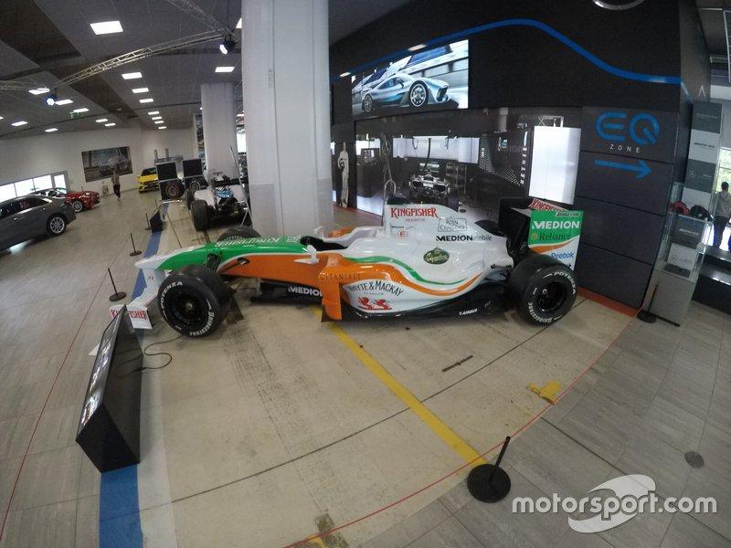 Force India VJM02, 2009