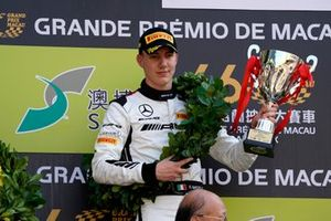 Podium: Race winner #999 Mercedes-AMG Team GruppeM Racing Mercedes AMG GT3: Raffaele Marciello