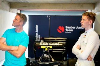 Ralf Schumacher e David Schumacher, Sauber Junior Team by Charouz