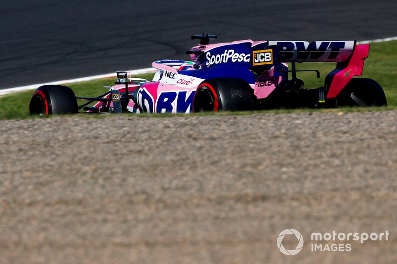 17º Sergio Perez, Racing Point RP19 (1:30.344)