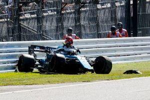 Robert Kubica, Williams FW42 crashe