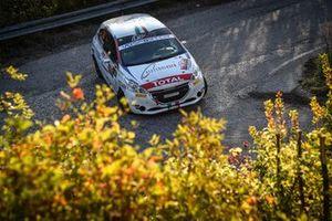 Jacopo Trevisani, Arianna Faustini, Peugeot 208, HP Sport