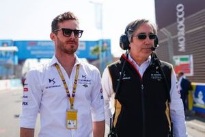 James Rossiter, DS Techeetah, DS E-Tense FE20, Mark Preston, Director de Equipo, DS Techeetah