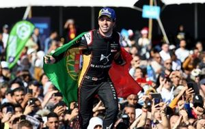 Race winner Antonio Felix da Costa, DS Techeetah celebrates.