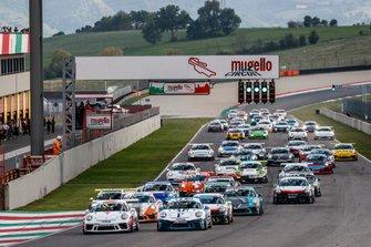 Porsche GT3 Cup Suisse : le départ