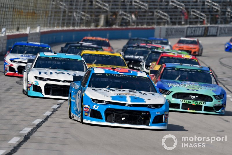 Darrell Wallace Jr., Richard Petty Motorsports, Chevrolet Camaro Covert Auto Group
