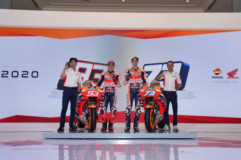 Alex Marrquez, Marc Marquez, Repsol Honda Team