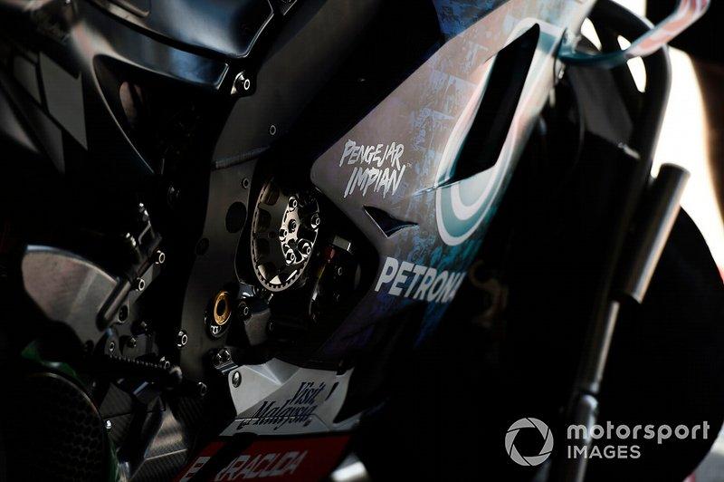Petronas Yamaha SRT, bike detail