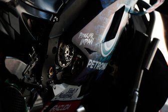 Petronas Yamaha SRT, bike detail