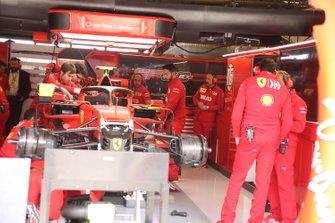 Car of Charles Leclerc, Ferrari SF90