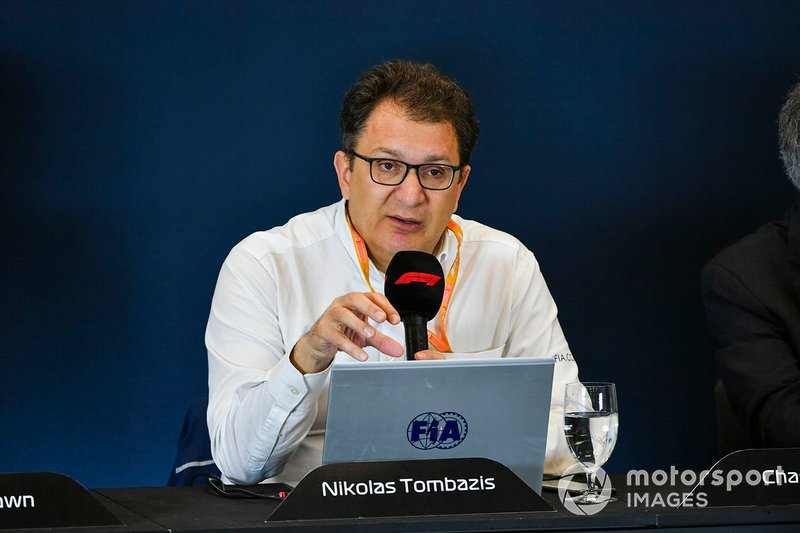 Nikolas Tombazis responsabile tecnico della FIA in F1