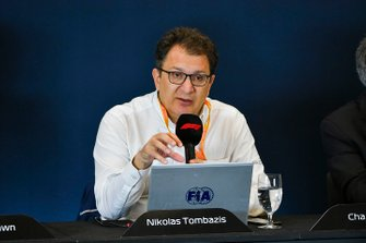 The 2021 Formula 1 technical regulations are unveiled in a press conference, Nikolas Tombazis