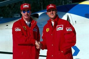 Eddie Irvine and Michael Schumacher, Ferrari