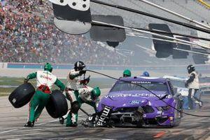 Ryan Newman, Roush Fenway Racing, Ford Mustang Violet Defense