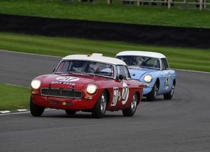Ronnie Hoare Trophy Ed Foster MGB