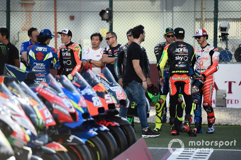 Valentino Rossi, Yamaha Factory Racing, Morbidelli, Francesco Bagnaia, Pramac Racing