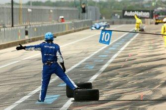 Феликс Розенквист, Chip Ganassi Racing Honda пит-стоп