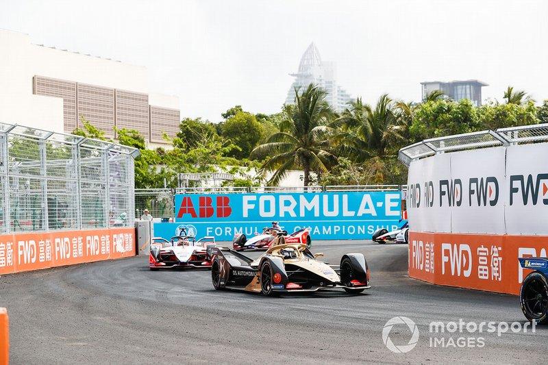 Andre Lotterer, DS TECHEETAH, DS E-Tense FE19, Jérôme d'Ambrosio, Mahindra Racing, M5 Electro, Pascal Wehrlein, Mahindra Racing, M5 Electro