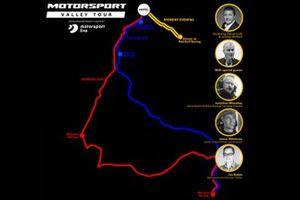 Motorsport Live - Motorsport Valley Tour map