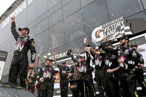 Il vincitore Jimmie Johnson, Hendrick Motorsports, Chevrolet Camaro Ally