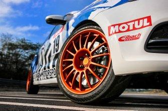 Volkswagen Polo RX detalle de la rueda
