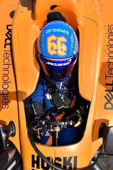 Fernando Alonso, McLaren Chevrolet