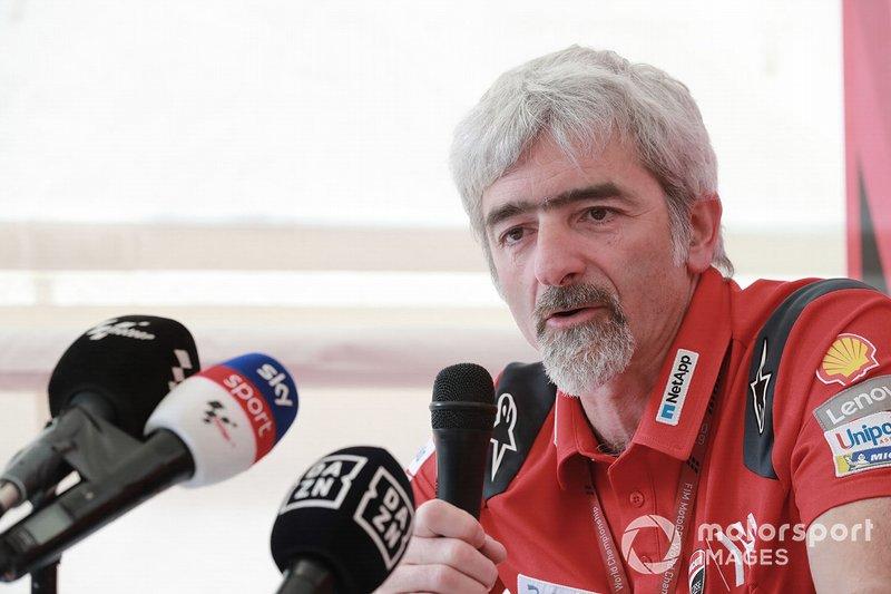 O 'ganho' de dois meses para Márquez já foi comentado até pelo chefe da Ducati, Gigi Dall'Igna: