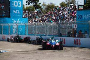 Lucas di Grassi, Audi Sport ABT Schaeffler, Audi e-tron FE05 Gary Paffett, HWA Racelab, VFE-05, Oliver Turvey, NIO Formula E Team, NIO Sport 004, Jérôme d'Ambrosio, Mahindra Racing, M5 Electro