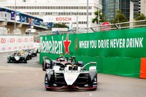 Oliver Rowland, Nissan e.Dams, Nissan IMO1, al inicio de la carrera.