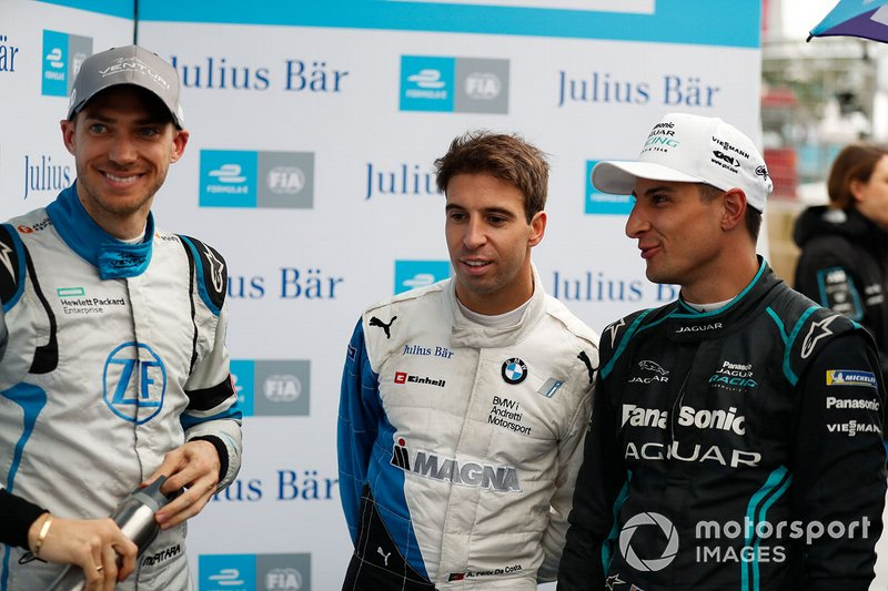Edoardo Mortara, Venturi Formula E, Antonio Felix da Costa, BMW I Andretti Motorsports, Mitch Evans, Panasonic Jaguar Racing