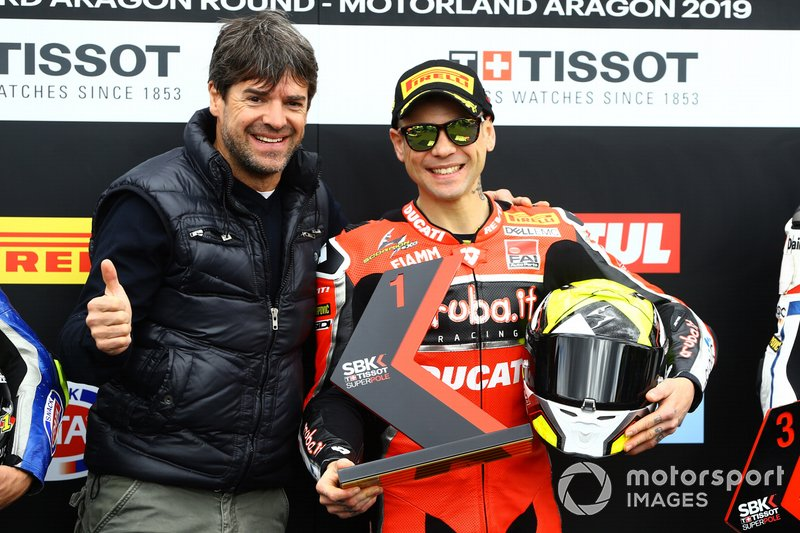 Carlos Checa, Alvaro Bautista, Aruba.it Racing-Ducati Team