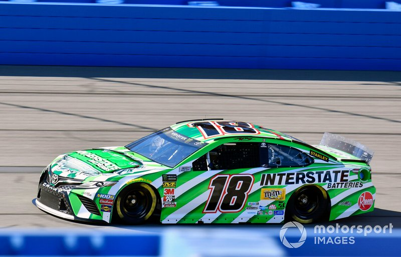 4. Kyle Busch, Joe Gibbs Racing, Toyota Camry Interstate Batteries