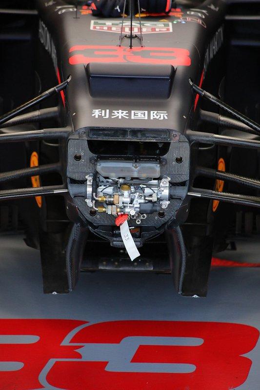 Передняя часть Red Bull Racing RB15