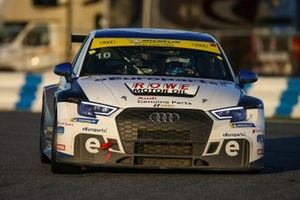 #10 eEuroparts.com ROWE Racing Audi RS3 LMS TCR, TCR: Lee Carpentier, Kieron O'Rourke