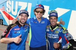 Alex Rins, Team Suzuki MotoGP, Josh Herrin, Toni Elias
