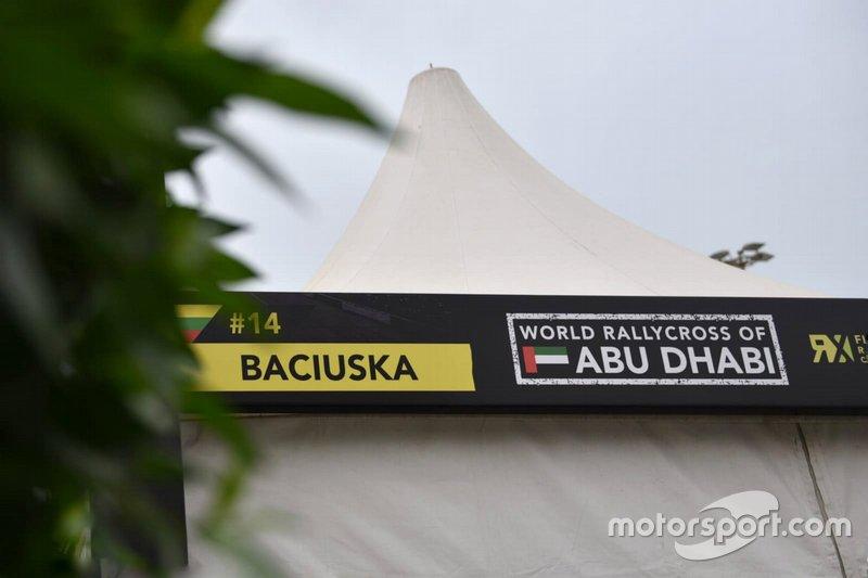 Rokas Baciuska, ES Motorsport team area board