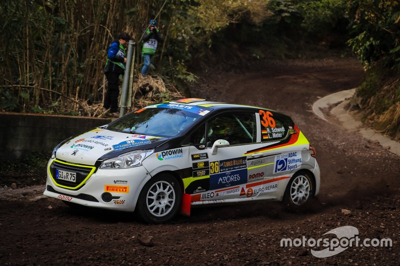 Roman Schwedt, Lina Meter, Peugeot 208 R2, Team ROMO