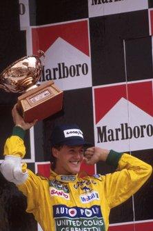 Podio: Michael Schumacher, Benetton